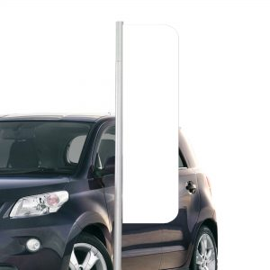 new mobile advertising plate