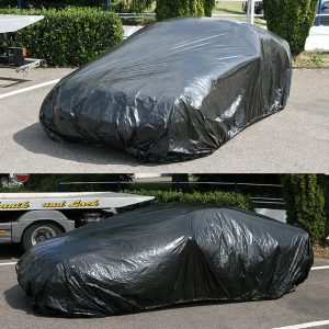 Car Cover, black, 30µ,