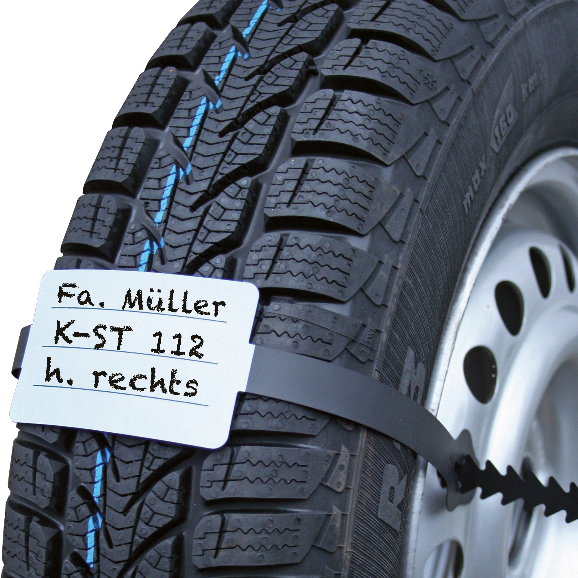 Wheel / Tyre Pendant with Fixing Band