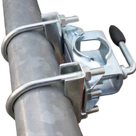 clamp-drawbar jack castor wheel set