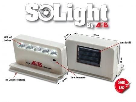 "Solar / SMD LED Lamp ""Solight"""