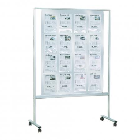 Info-board incl. 16 A4 PET pockets