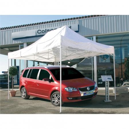 Foldable Tent Construction