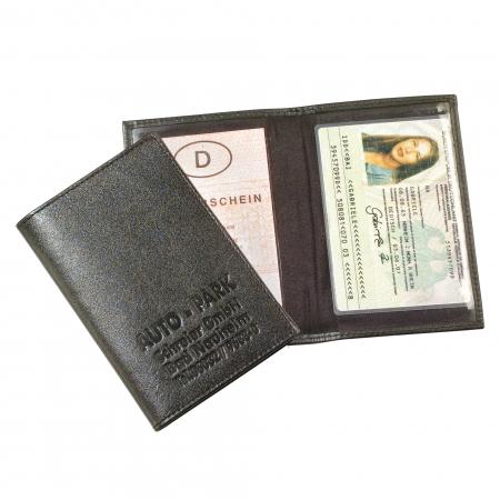 id paper pocket lether black