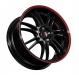 AEZ; Dotz-Wheels; Shift pinstripe red;