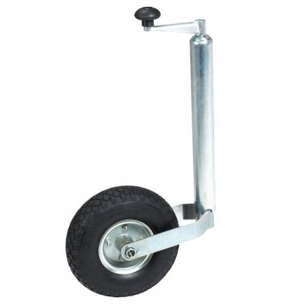 drawbar jack castor wheel