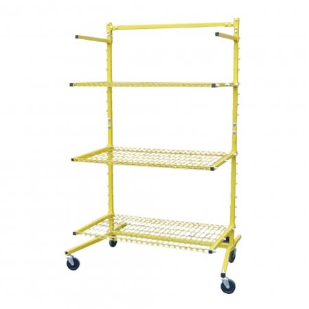 Mobile Shelf for car parts