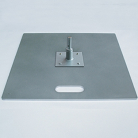 Ground Plate with rotator