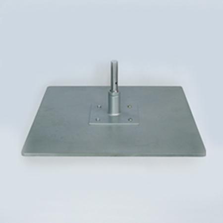 ground plate with rotator
